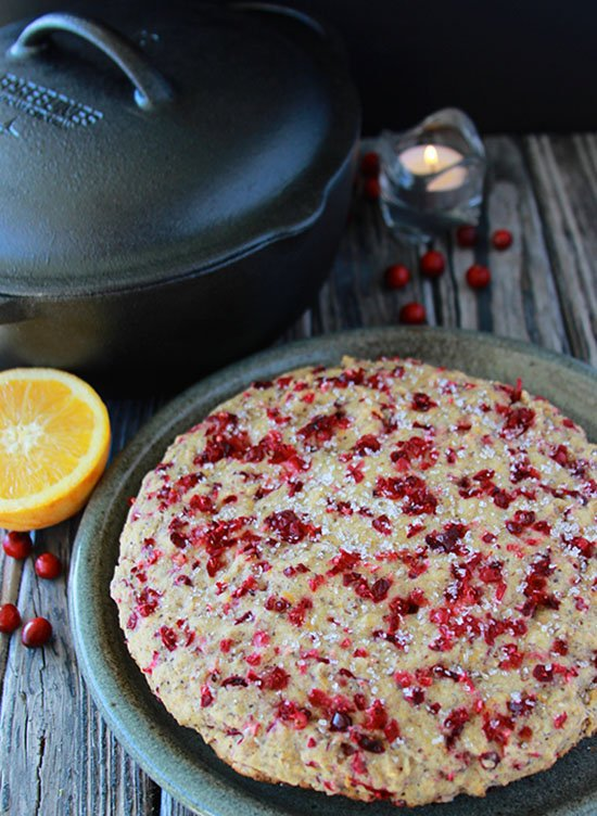 Cranberry Orange Quick-Bread is sure to be a delightful this holiday season! www.cookingwithruthie.com