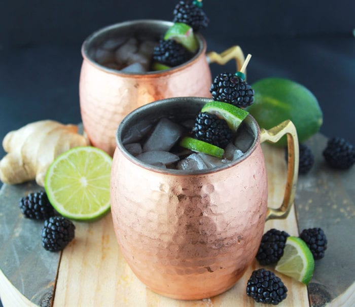 Blackberry Ginger Lime Mules Cooking With Ruthie