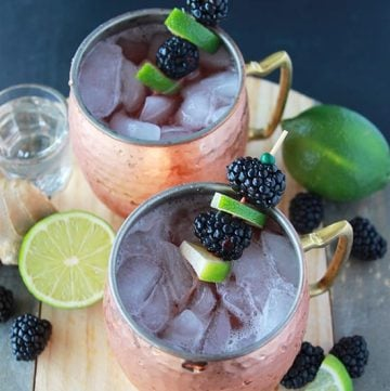 Blackberry Lime Mules 1 1