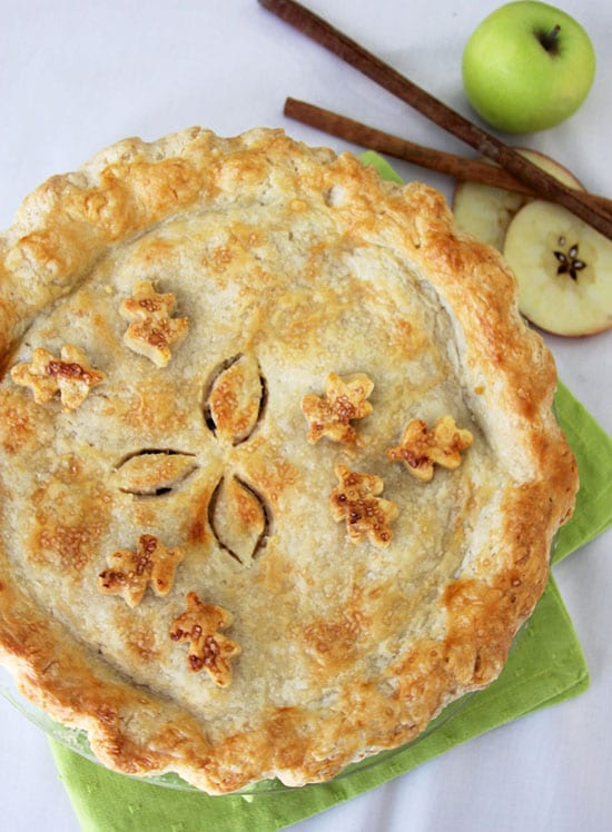 Today's Homemade Apple Pie Recipe will make all your apple pie dreams come true! by cookingwithruthie.com