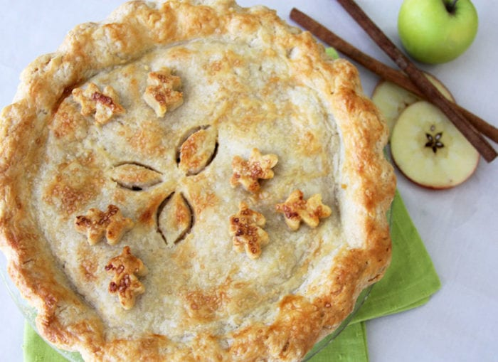 Homemade Apple Pie is all that you're dreaming of PLUS more! Delish!! www.cookingwithruthie.com