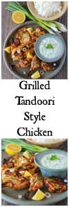 Grilled Tandoori Style Chicken authentic and it's so simple to make at home! www.cookingwithruthie.com