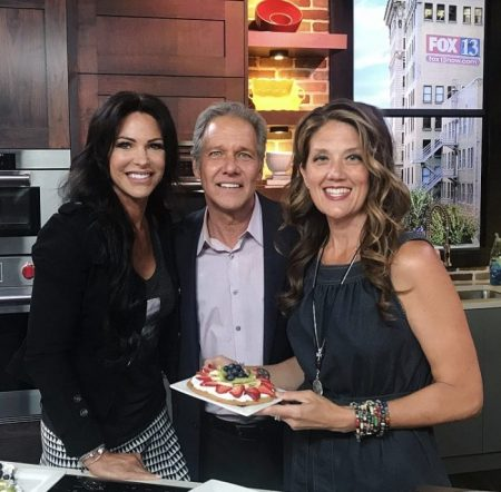 Fruit and Cream Cookie Pizza on Fox13 are as fun to make as they are to bake!www.cookingwithruthie.com