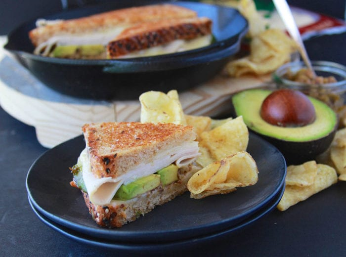 Italian Turkey Avocado Grilled Cheese is a new spin on the classic grilled cheese! www.cookingwithruthie.com #ad @sargentocheese #JuneDairyMonth #JuneDairyMonthBlog #ad