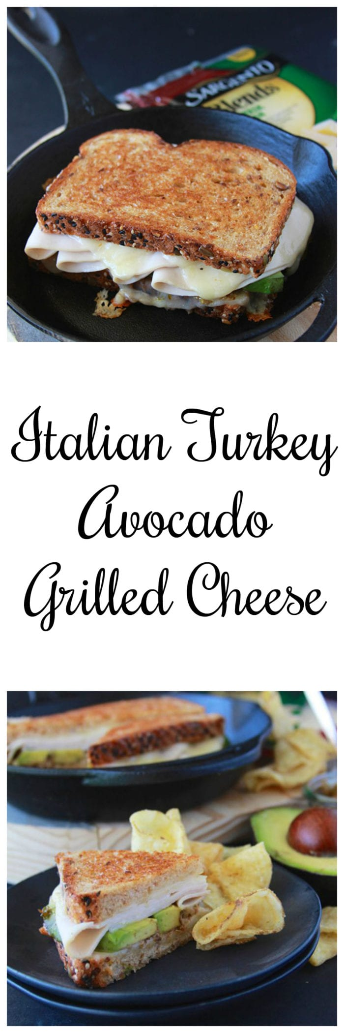 Italian Turkey Avocado Grilled Cheese is a new spin on the classic grilled cheese! www.cookingwithruthie.com #ad @sargentocheese #JuneDairyMonth #JuneDairyMonthBlog