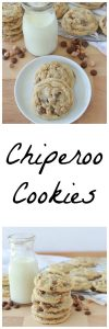 Chiperoo Cookies to celebrate back to school with your kids this year! www.cookingwithruthie.com