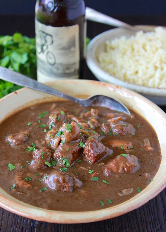 Chicken and Smoked Sausage Gumbo with Rice will make momma proud, authentic gumbo at home! www.cookingwithruthie.com