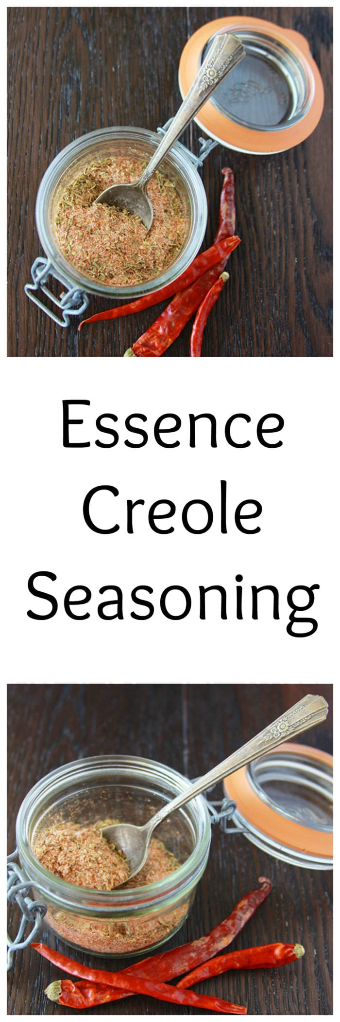 Essence Creole Seasoning is a must have in all southern food, now you can make it at home! www.cookingwithruthie.com