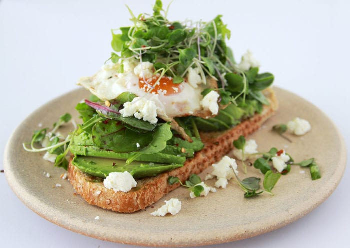 Green Goddess Toast is a culinary show piece that will wow all your guests! www.cookingwithruthie.com