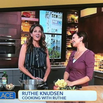 Cinnamon Apple Butter on FOX13! www.cookingwithruthie.com