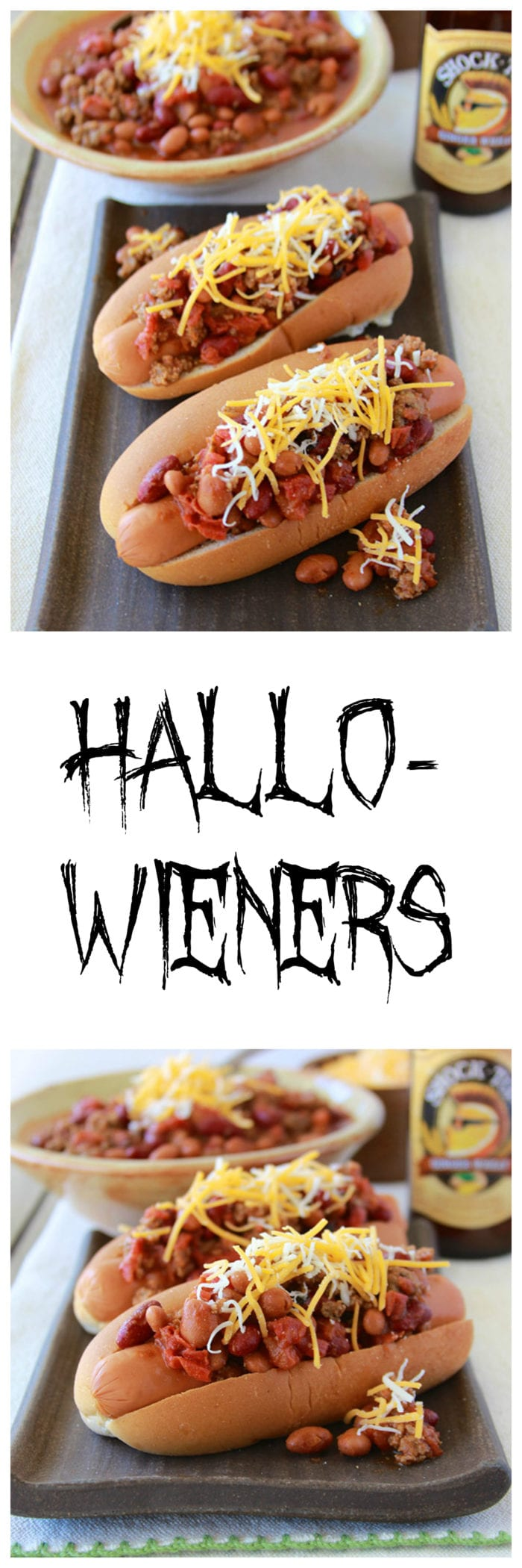 Hallo-weiners are a fun way to fuel your family before they head out to trick-or-treat on Halloween Night!  www.cookingwithruthie.com