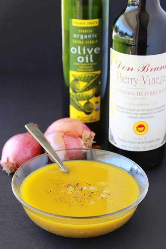 Sherry Shallot Vinaigrette 1 3