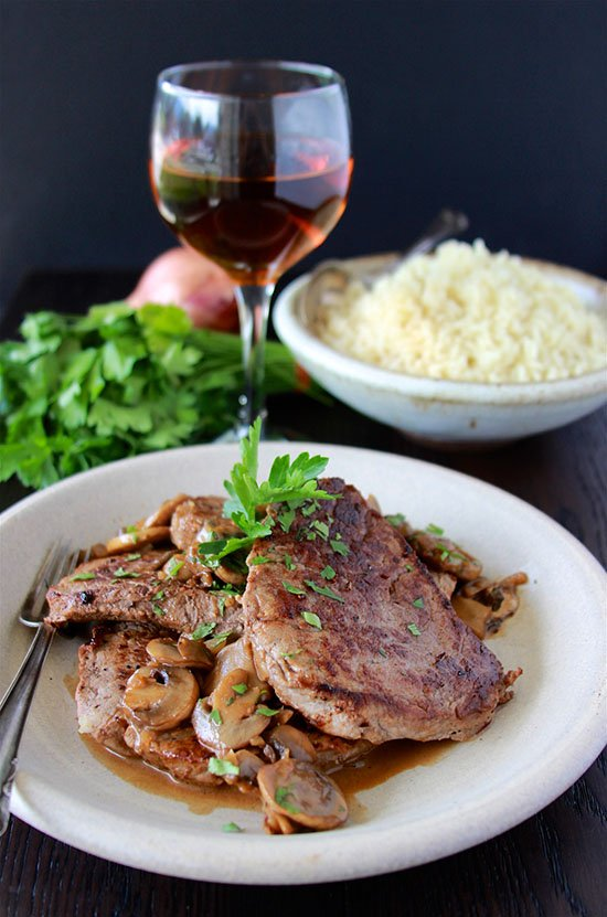 Steak Diane is the perfect way to surprise your loved ones on any special occasion! www.cookingwithruthie.com