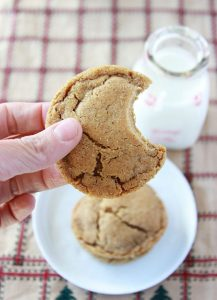Chewy Ginger Cookies will take you back to all your favorite holiday memories! www.cookingwithruthie.com