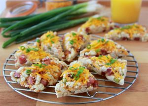 Irish Cheddar, Ham, and Chive Scones are my spin on the Irish classic plus photo's from my recent travels to Ireland! www.cookingwithruthie.com