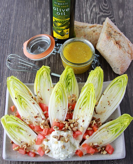 French Endive Salad and The Louvre Museum in Paris, France! www.cookingwithruthie.com