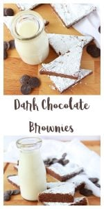 Dark Chocolate Brownies are a chocolate dream come true! www.cookingwithruthie.com