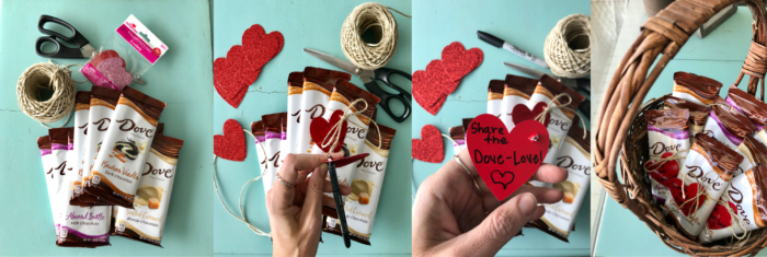 An adorably simple way to brighten someones day! Share the DOVE-love! www.cookingwithruthie.com