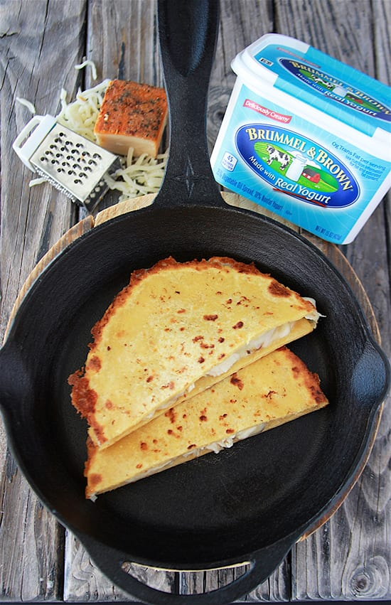 Chipotle Chicken Quesadilla are a quick and easy meal that the whole family will love! www.cookingwithruthie.com