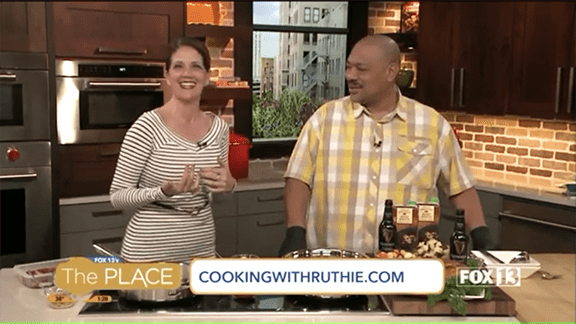 Guinness Beef Stew on Fox13! www.cookingwithruthie.com