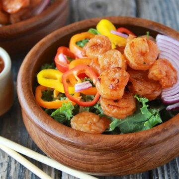 Asian Shrimp Salad 2 3