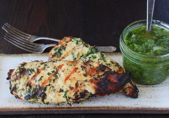 Herbed Grilled Chicken will be your new favorite summer grilling recipe! www.cookingwithruthie.com