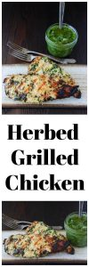 Herbed Grilled Chicken Recipe will be your new favorite summer grilling recipe! www.cookingwithruthie.com