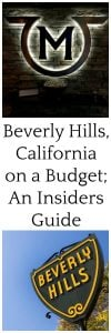 Beverly Hills, California on a Budget; An Insiders Guide is part of our Travel Tips & Tricks series because lets face it. . . who doesn't love to be out in the mix of the city life while still being conscious of their pocketbook! www.cookingwithruthie.com