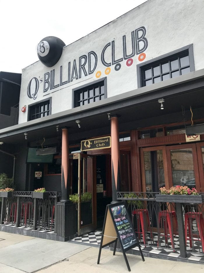 Q's Billard in Los Angeles, California Best Hole in the Wall Restaurants; An Insiders Guide is part of our Travel Tips & Tricks series! by cookingwithruthie.com