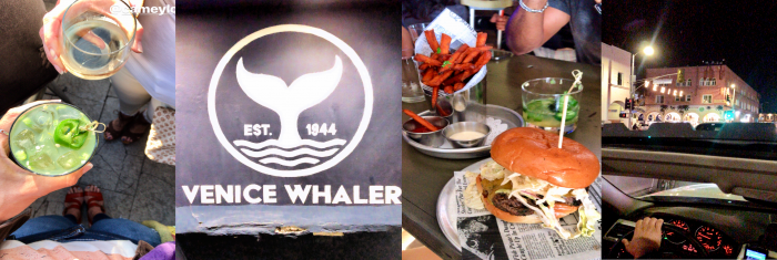 The Whaler at Venice Beach, Los Angeles, California Best Hole in the Wall Restaurants; An Insiders Guide is part of our Travel Tips & Tricks series! by cookingwithruthie.com