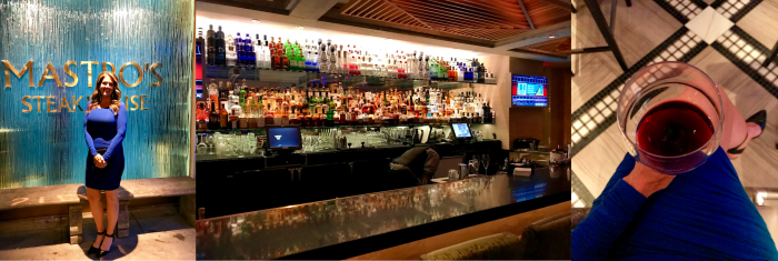 Mastro's Penthouse Bar and wine in Beverly Hills, California