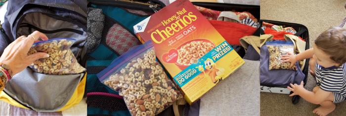10 Healthy Travel Tips & Cheerios Snack Mix to keep you fit and fueled in all of your adventures! by cookingwithruthie.com