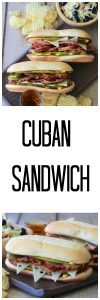 "Cuban Sandwich Recipe has such an amazing ""wow"" factor. . .  you simply won't believe how tasty this sandwich is! www.cookingwithruthie.com"