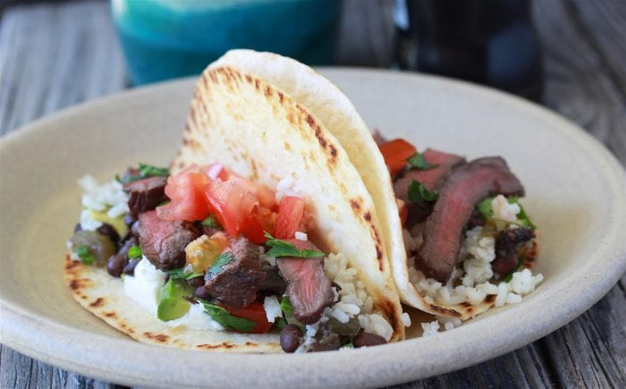 Spicy Tequila Elk Steak Fajitas Recipe has all the wow factors when it comes to a the ultimate marinade! by cookingwithruthie.com