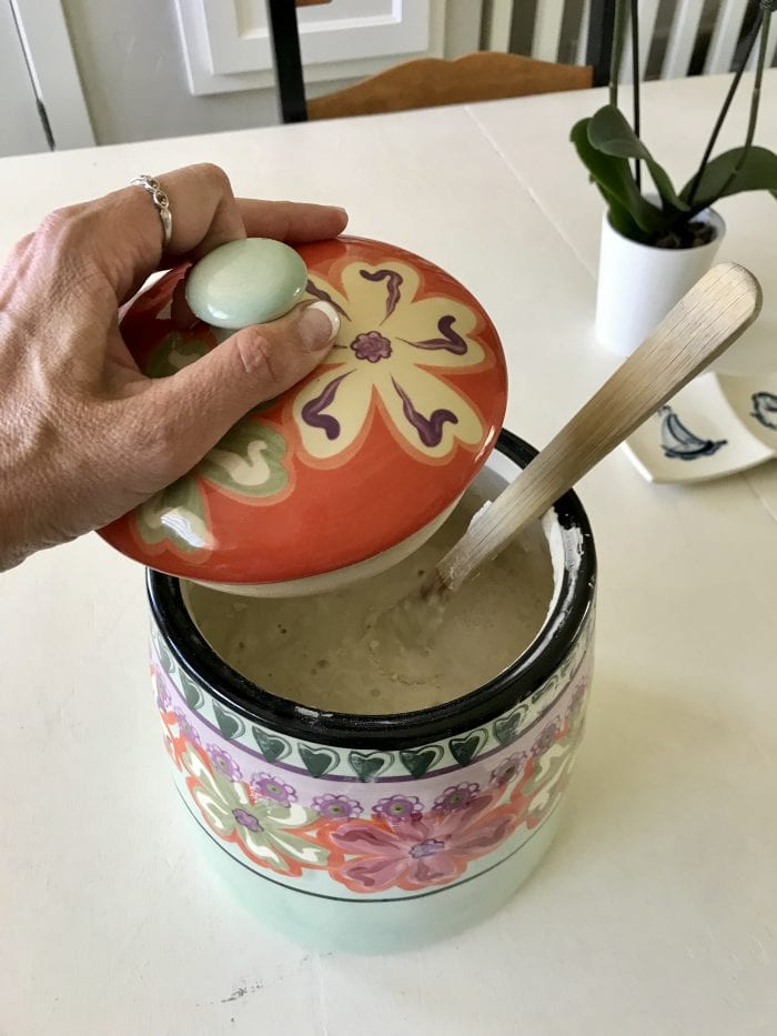 The Ultimate Sourdough Starter Guide is filled with everything you ever want or need to know about a sourdough starter; What is it? How to does it work? How do I take care of it? by cookingwithruthie.com