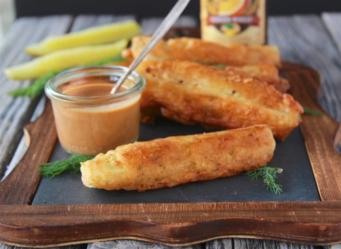 Pan-Fried Pickles Recipe with Fry Sauce is sure to win you over with every bite! by cookingwithruthie.com
