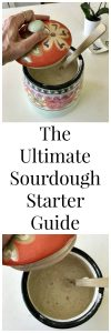 The Ultimate Sourdough Starter Guide is filled with everything you ever want or need to know about a sourdough starter! www.cookingwitrutie.com