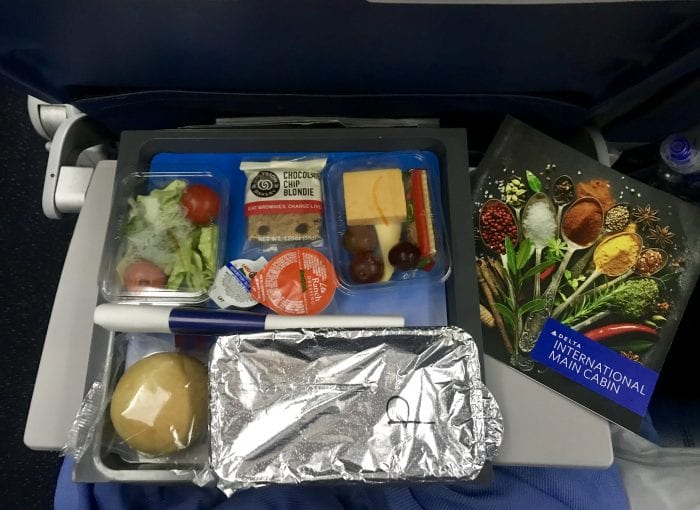 5 Travel Tips to make Airplane Food Taste Good! by cookingwithruthie.com