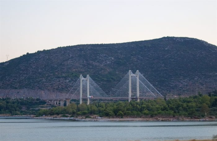 Halkida Bridge, Evia, Greece