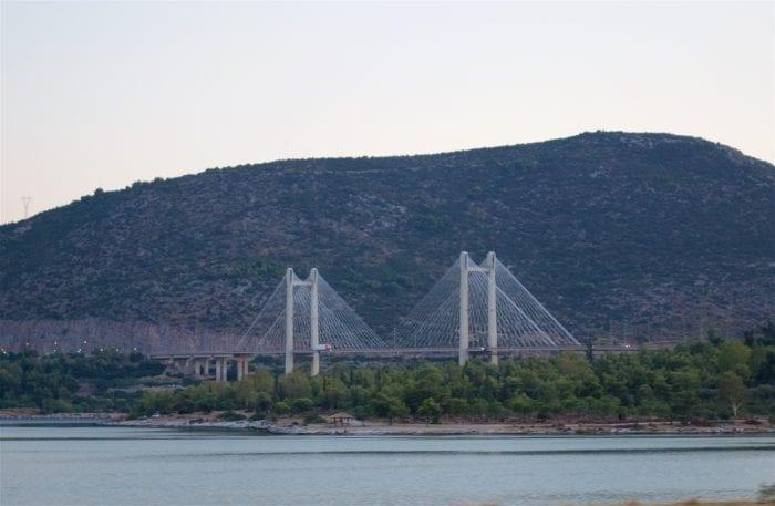 Halkida Bridge, Evia, Greece