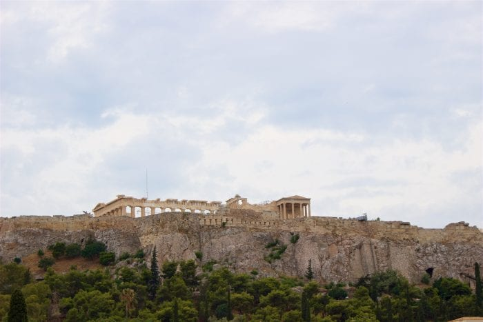 Acropolis of Athens, Greece by cookingwithruthie.com