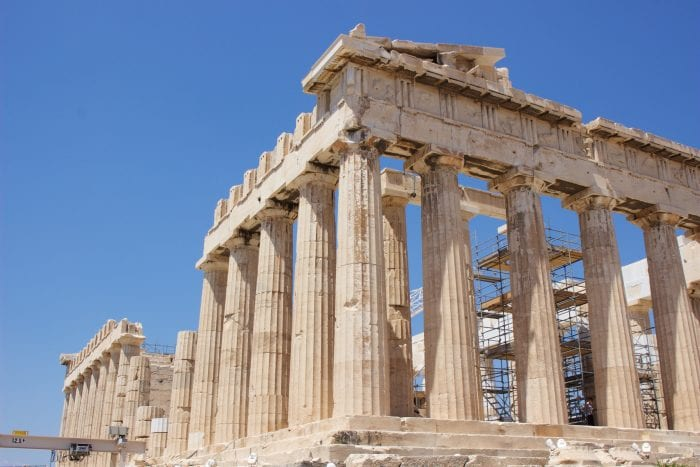 Parthenon, Acropolis of Athens by cookingwithruthie.com