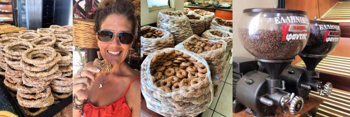 Greek Bakery in Delisi, Greece
