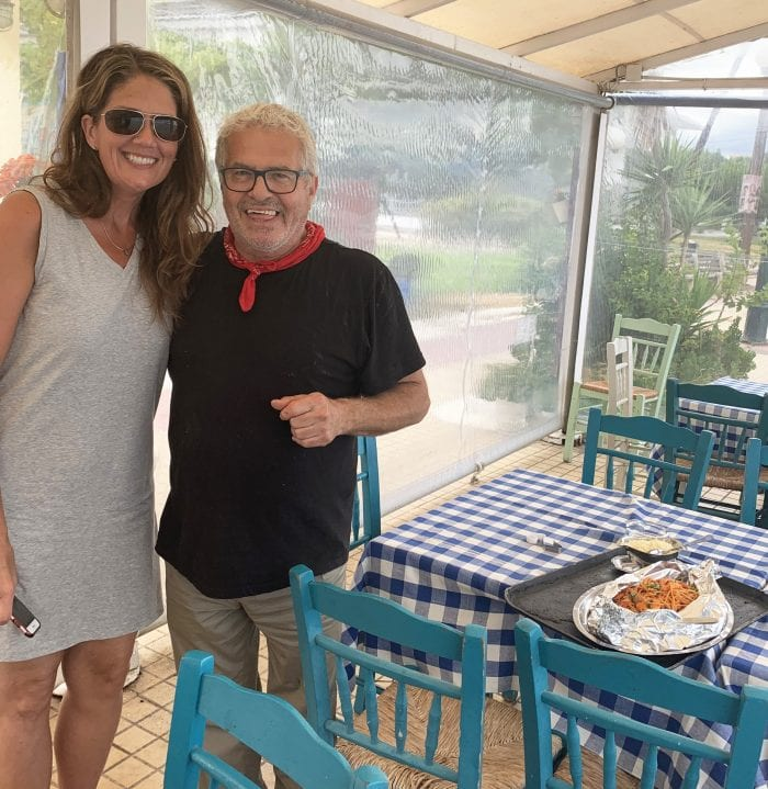 Owner and Chef of DELION a seaside restaurant in Delisi, Greece