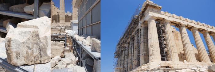 Parthenon Restoration, Athens, Greece