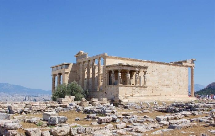The Temple of Athena Nike, Acropolis, Athens, Greece