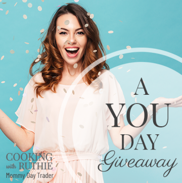a YOU day giveaway! We want to pamper you +5 of your besties!! by cookingwithruthie.com