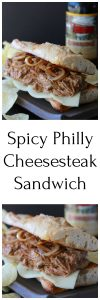 Spicy Philly Cheesesteak Sandwich Recipe is an American classic with a spicy twist! by cookingwihtruthie.com