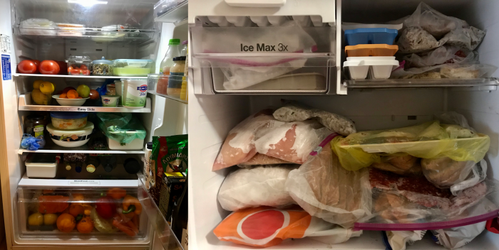 We want to share our best Tips for Maximizing your Fridge & Freezer Food to keep make the most of your food supplies! by cookingwithruthie.com
