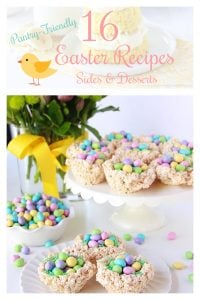 16 Pantry Friendly Easter Recipes Sides Desserts Pin 2